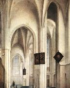 SAENREDAM, Pieter Jansz Interior of the St Jacob Church in Utrecht oil painting picture wholesale